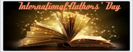 international authors day blog